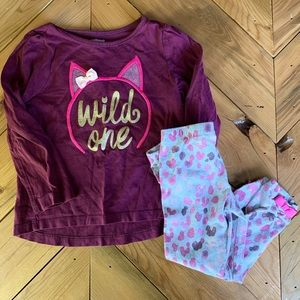Gymboree Wild One Outfit - 2T